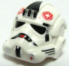 LEGO - Minifig, Headgear Helmet  Stormtrooper, AT-AT Driver Red Imperial Logo