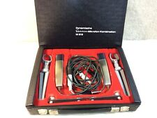 More details for beyer dynamic 818 microphone pair dynamic - rare vintage - free postage