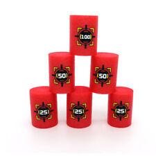 6X EVA Soft Bullet Target Dart For N-Strike Elite Blasters Kids Toy Gun ATC
