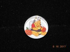 Snap metal Button WINNIE THE POOH HALLOWEEN Charm for Snap bracelets/18MM-19MM