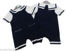 Abbigliamento blu in poliestere in estate per bimbi