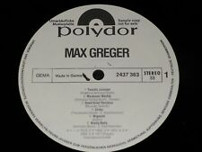 MAX GREGER same / German PROMO LP 1971 POLYDOR 2437363