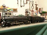 """Lionel Postwar 665 Hudson Steam Loco 4-6-4 ,""""1954-56""""& 2046W tender serviced !"""