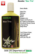 Maxolen Max Trio, Super 3 All in One Polish 250ml. Cleanse, Wax, Seal