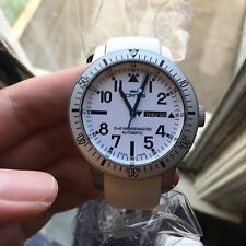 Fortis B42 647.11.42 White Marinemaster Glow Watch Brand New Swiss Automatic