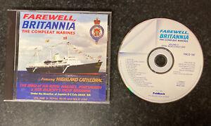 Farewell Britannia The Compleat Marines - Audio CD 1997