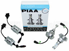 Piaa Platinum 6000K White LED Headlight Light Bulbs - H13/9008 Plug & Play