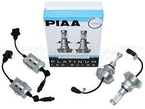 Piaa Platinum 6000K White LED Headlight Light Bulbs - 9003/H4 Plug & Play