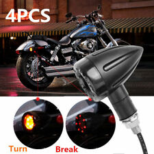 4pcs Motorcycle LED Amber Lamp Rear Turn Signal Brake Useful Light Indicator hot