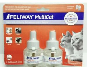 Feliway Multicat Diffusers  2-pack   expdt 12/2022