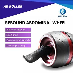 Fitness Ab Carver Pro Exercise Wheel Roller Six Pack Abs Workout Home Gym