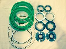 Rockwell 2.5 Ton Front Axle Green Boot and Seal Kit M35 M109 Military Mud Truck