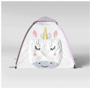 Pillowfort Kids' Unicorn Character Play Tent - White