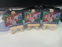 (3) 2019-20 Panini Mosaic Give and Go Mosaic Green #11 Russell Westbrook LOT