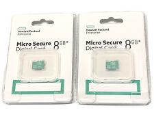 2 x Hewlett Packard (HP) Enterprise, Micro Secure Digital (SD) Card, New
