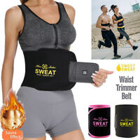 Premium Waist Trimmer for Men&Women Trainer Sweat Belt Body Shaper Slimmer Kit