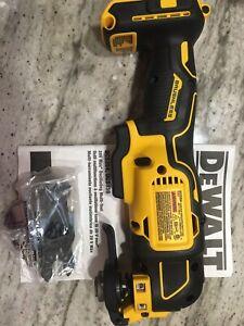 New DeWalt DCS354B * Brushless 20V * Oscillating Multi-Tool Only With Blade 356