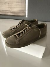 ee3fb92a8e4f New Common Projects Original Achilles Low Suede Taupe 45 (12)