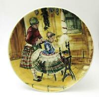 LARGE MARTIN BOYD AUSTRALIAN POTTERY WALL PLATE HANDPAINTED SIGNED