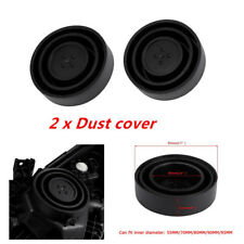 2X Seal Cap Dust Cover 5 Sizes for Car Headlight LED HID Lamp Kit Functional