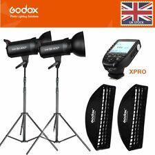 2*Godox SK400II 400W 2.4G Studio Flash+35*160cm+2m light stand+Xpro trigger Kit