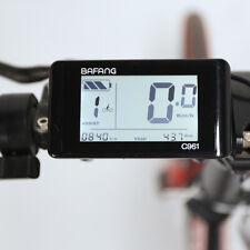 BAFANG 8FUN C961 LCD Panel Display Mid Drive Motor Conversion BBS01 BBS02 BBSHD