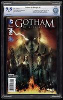 Gotham by Midnight (2015) #1 1st Print CBCS 9.8 Blue Label White Pages Batman