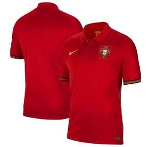 Team Portugal National Euros European Soccer 2020/21 Home Replica Jersey - Red