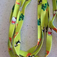 Hello Kitty Lime Shoe Laces 120cm