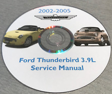Ford Thunderbird 2002 2003 2004 2005 3.9L Factory Workshop Service Repair Manual