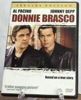 """""""Donnie Brasco"""" (DVD,2000) Collectors Special!~25% Off 4 Or More!"""