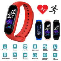 Smart Watch Fitness Tracker Heart Rate Monitor Sport Bracelet Health Band Unisex