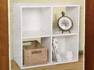 Cube Storage Cabinet Display Unit Book Shelf Bookcase Organiser Shelves