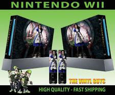Adesivo/cover brillante per videogiochi e console Nintendo Wii