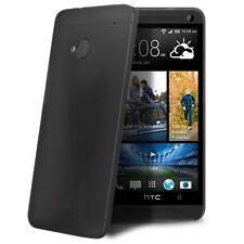 Coque Housse Etui Translucide Ultra Fine 0.3mm Pour HTC One (M7) Noire
