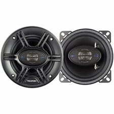 """NEW (2) 4"""" 4-way Speakers.Car Audio four inch Pair.Custom Sound.Replacements.4om"""