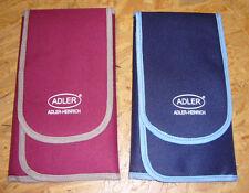 2x Flötentasche: hochwertige Taschen 1x rot + 1x blau -- für Altblockflöten--NEU