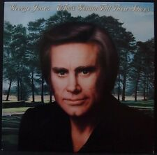 GEORGE JONES - WHO'S GONNA FILL THEIR SHOES AUS PRESS PROMOTIONAL COPY IN EX++