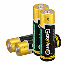 New 4pcs Gaoneng Max AA Alkaline Batteries 1.5v Bulk Batteries for Electronics