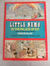 Little Nemo In The Palace of Ice ~ Winsor McCay ~ Softcover 1st Print ~ 1976