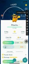 Shiny Summer Hat Pikachu Pokemon Go - Trade