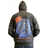 """Morbid Angel """"Altars Of Madness"""" Album Cover Zip Hoodie - OFFICIAL hooded"""