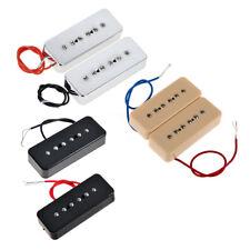 3 Sets Electric Guitar P90 Soapbar Pickups Bridge Neck Single Coil