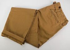 NWT DOCKERS K-1 'Kramerton' Buckle Back Khaki Cotton Pants 33x33 Limited Edition