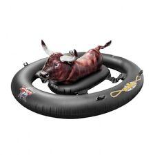 Intex aufblasbarer Rodeo Stier Bulle XXL Luftmatratze Schwimminsel schwarz