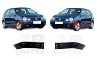 Pour VW Polo (9N) 2001 - 2005 Neuf Avant Pare-Choc Support Paire Set