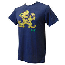 Notre Dame Fighting Irish Under Armour Navy Legacy Tri Blend T Shirt L