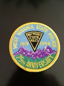 West virginia state police, 75 Anniversary