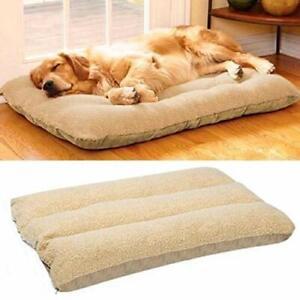 Bingopaw Soft Fleece Dog Bed Pet Cat Dog Mat Pad Cushion Washable and Detachable