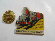 PIN'S SAUJON LA TREMBLADE TRAIN TOURISTIQUE DE LA SEUDRE